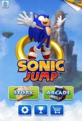 Скачать игру Sonic Jump через торрент на pc
