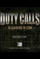 Скачать игру Duty Calls The Calm Before the Storm через торрент на pc