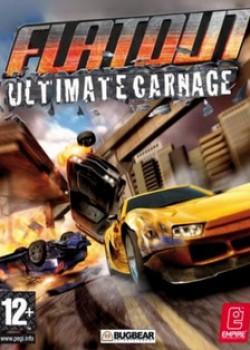 Скачать игру FlatOut: Ultimate Carnage через торрент на pc