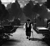 Кладбище на ноутбук