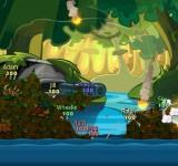 Worms Battle Islands взломанные игры