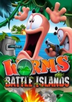 Скачать игру Worms Battle Islands через торрент на pc