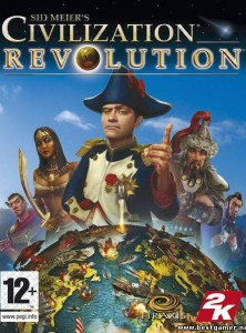 Скачать игру Civilization Revolution через торрент на pc