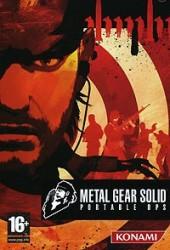 Скачать игру Metal Gear Solid Portable Ops через торрент на pc