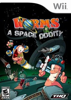Скачать игру Worms A Space Oddity через торрент на pc