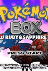 Скачать игру Pokemon Box Ruby and Sapphire через торрент бесплатно