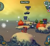 Worms 3D взломанные игры